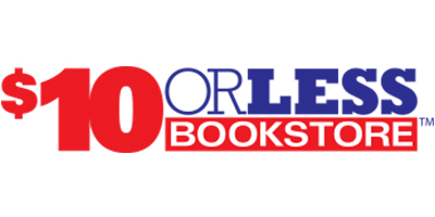 The $10.00 or Less Bookstore Logo