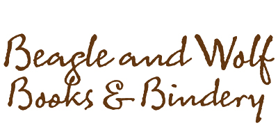 Beagle and Wolf Books & Bindery Logo