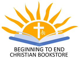 Beginning to End Christian Bookstore Logo