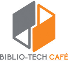 The Biblio-Tech Cafe Logo