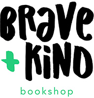 Brave + Kind Bookshop Logo