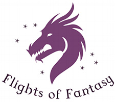 Flights of Fantasy Books and Games Logo