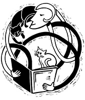 The Haunted Bookshop Logo