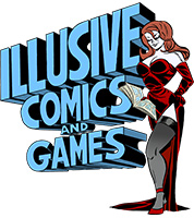 Illusive Comics & Games Logo