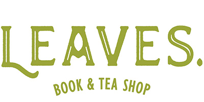 Leaves Book and Tea Shop Logo