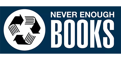 Never Enough Books Logo