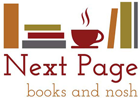 Next Page Books & Nosh Logo