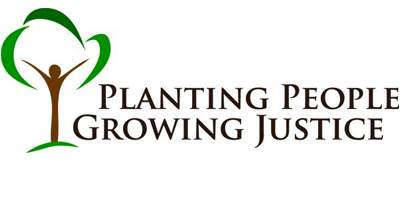 Planting People Growing Justice Logo