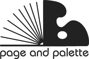 Page and Palette Logo
