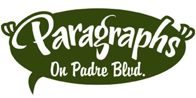 Paragraphs on Padre Boulevard Logo