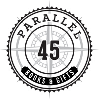 Parallel 45 Books & Gifts Logo