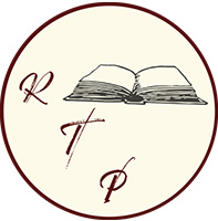 Re-Turn the Page Bookstore Logo