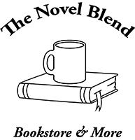 The Novel Blend Bookstore & More Logo