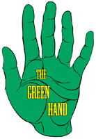 The Green Hand Bookshop Logo