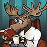 The Well-Read Moose image