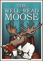 The Well-Read Moose Logo