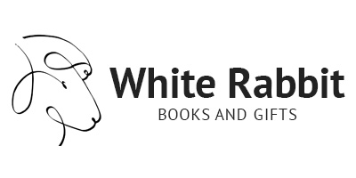 White Rabbit Books and Gifts Logo
