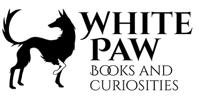 White Paw Books & Curiosities Logo