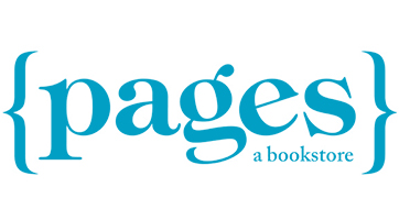 {pages} a bookstore Logo