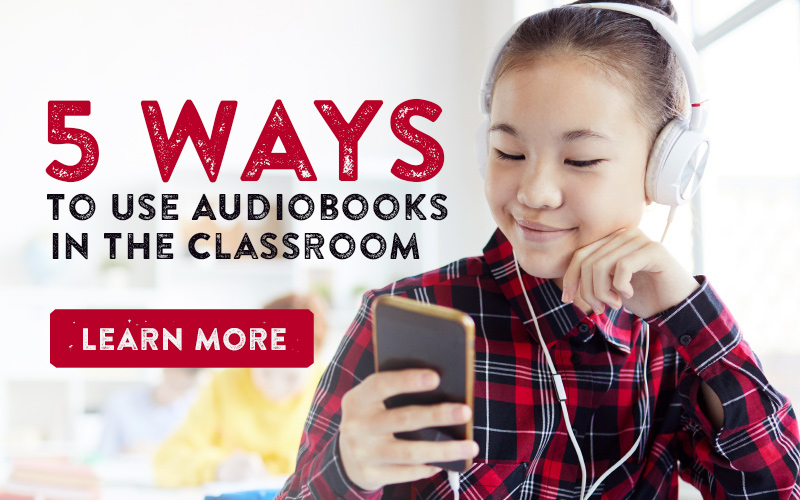 5 Ways to Use Audiobooks in the Classroom