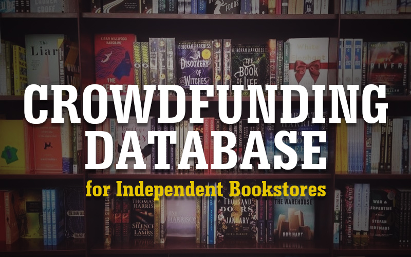 Crowdfunding Database for Independent Bookstores