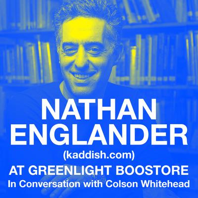 Nathan Englander (kaddish.com) with Colson Whitehead at Greenlight Bookstore