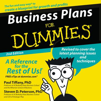 Business Plans for Dummies 2nd Ed. - Abridged