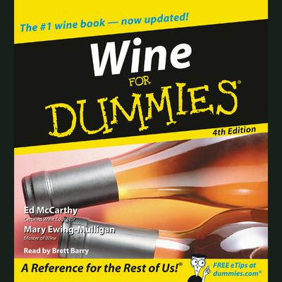 Wine for Dummies 4th Edition - Abridged