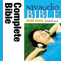 Pure Voice Audio Bible - New International Version, NIV (Narrated by George W. Sarris): Complete Bible