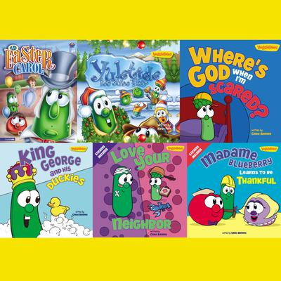 VeggieTales Children's Book Collection