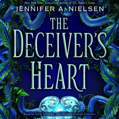 The Deceiver's Heart (The Traitor's Game, Book 2) (Digital Audio Download Edition)