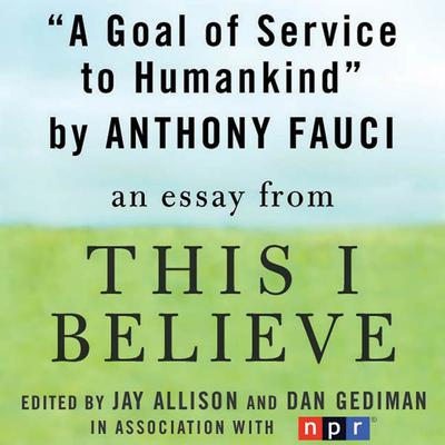 A Goal of Service to Humankind