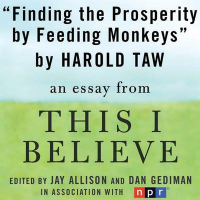 Finding Prosperity By Feeding Monkeys