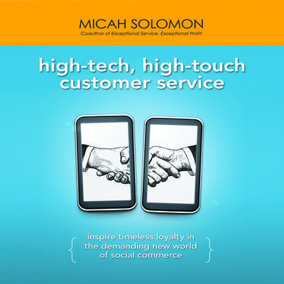 High-Tech, High-Touch Customer Service