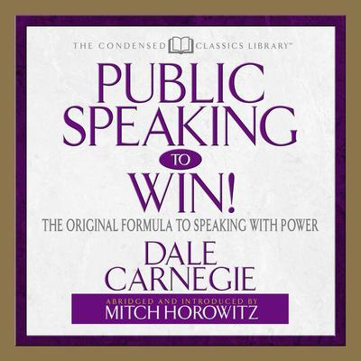 Public Speaking to Win - Abridged