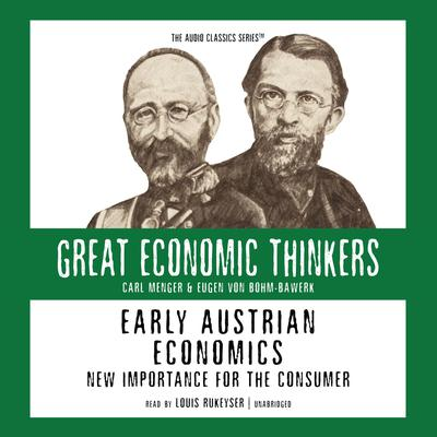 Early Austrian Economics