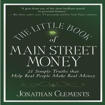 The Little Book Of MAIN STREET MONEY