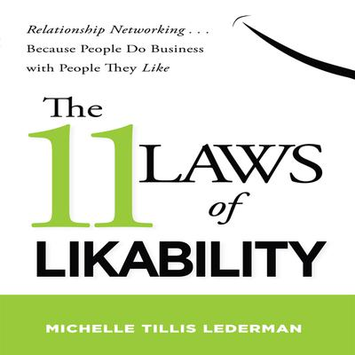 The 11 Laws Likability