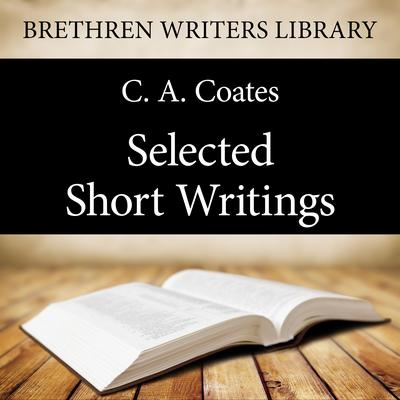Selected Short Writings