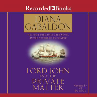 "Lord John and the Private Matter ""International Edition"""