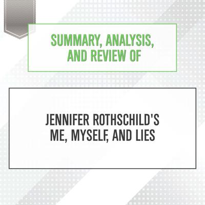 Summary, Analysis, and Review of Jennifer Rothschild's Me, Myself, and Lies