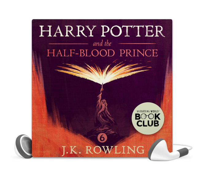 Harry Potter Book Cover Png ~ Libro fm harry potter and the half blood prince