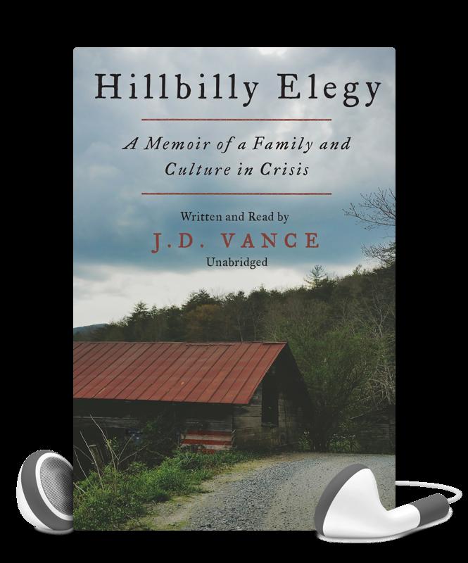 Libro.fm featured audiobook: Hillbilly Elegy at Brilliant Books