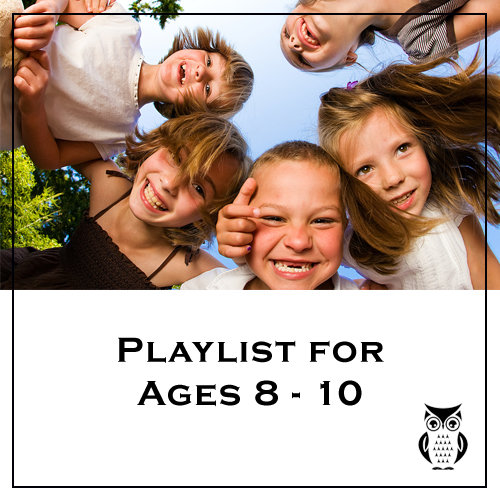 Owl Books Playlist for Ages 8 - 10