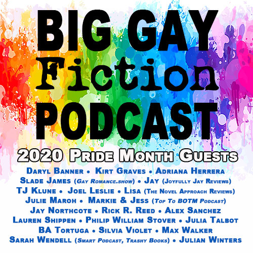 Big Gay Fiction Podcast Pride Month