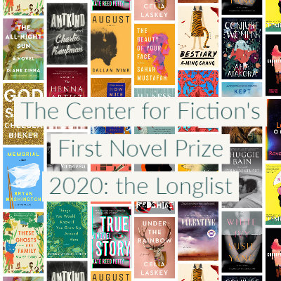 2020 First Novel Prize: The Longlist