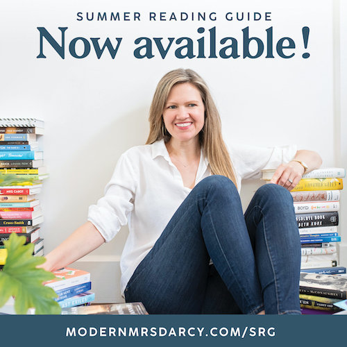 2021 Summer Reading Guide from Modern Mrs Darcy
