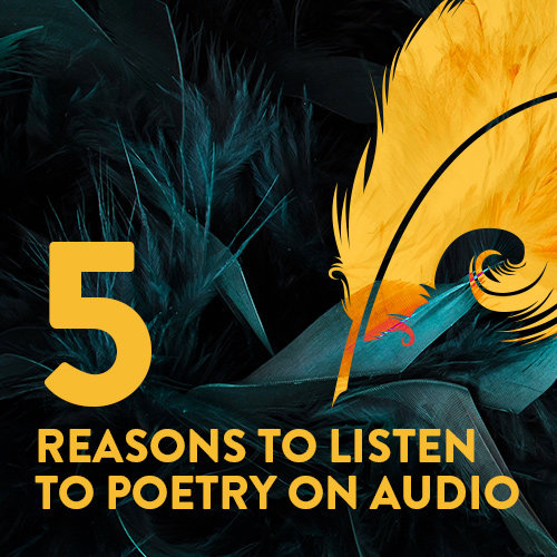 Playlist: Poetry Collections to Try on Audio cover