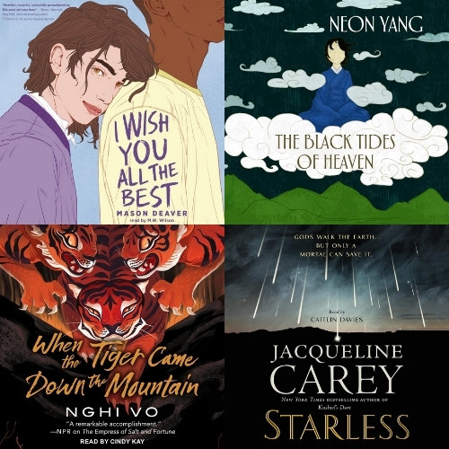 Audiobooks with Non-Binary Main Characters