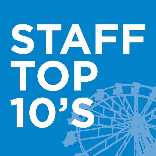 Staff Top 10's - 2017